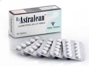 Clenbuterolo HCL Astralean 60mcg