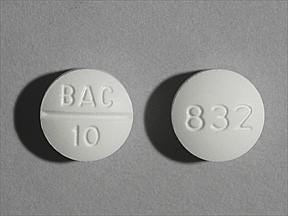 Baclofen 10mg